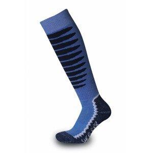 Dětské podkolenky Sherpax Laudo P modré Velikost ponožek: 35-38 / Barva: modrá