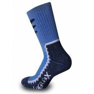 Dětské ponožky Sherpax Laudo modré Velikost ponožek: 30-34 / Barva: modrá