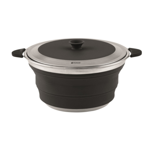 Hrnec Outwell Collaps pot with lid 2,5 l Barva: Midnight Black