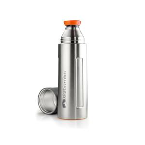 Termoska GSI Outdoors Glacier Vaccum Bottle 1L Barva: stříbrná