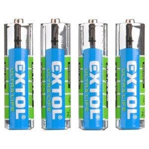 Baterie Extol AAA Light 4ks