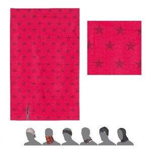 Šátek Sensor Tube Stars Magenta Barva: růžová