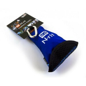 Ručník N-Rit Campack Towel L Barva: modrá