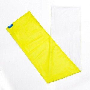 Chladivý Šátek N-Rit Cool Towel Twin Barva: bílá/žlutá