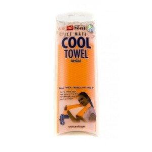 Chladivý ručník N-Rit Cool Towel Single Barva: oranžová
