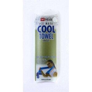 Chladivý ručník N-Rit Cool Towel Single Barva: tmavě zelená
