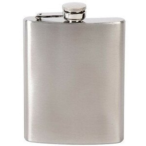 Placatka Bo-Camp Hip flash stainless steel