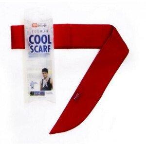 Chladící šátek N-Rit Cool Scarf Barva: červená