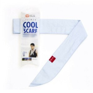 Chladící šátek N-Rit Cool Scarf Barva: světle modrá