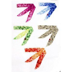 Chladící šátek N-Rit Cool X Scarf Barva: bílá/zelená