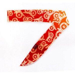 Chladící šátek N-Rit Cool X Scarf Barva: červená
