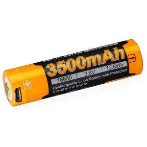 Dobíjecí baterie Fenix 18650 3500 mAh USB Li-ion