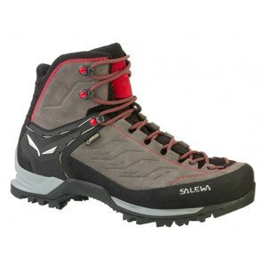 Pánské boty Salewa MS MTN Trainer MID GTX Velikost bot (EU): 46,5 / Barva: šedá/červená