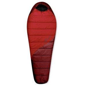 Spacák Trimm Balance 185 cm Zip: L / Barva: Red / Dark red / Velikost spacáku: 185cm