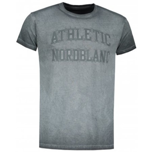Pánské triko Nordblanc Rivalry Velikost: S / Barva: šedá