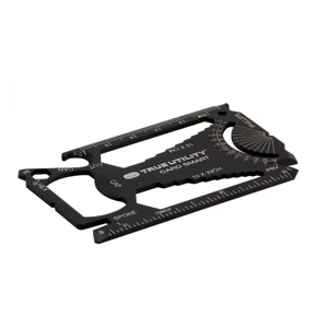 Multitool True Utility CardSmart TU 207 Barva: černá