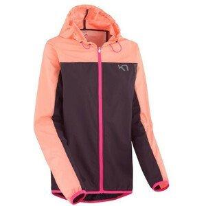 Dámská větrovka Kari Traa Marte Jacket Velikost: XS / Barva: růžová/fialová
