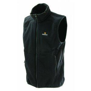 Pánská vesta Warmpeace Outward Powerstretch Velikost: XXL / Barva: černá