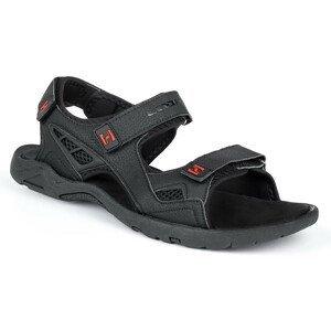 Pánské sandály Loap Reul Velikost bot (EU): 45 / Barva: černá/červená