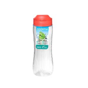 Láhev Sistema Tritan Active Bottle 800ml Barva: červená
