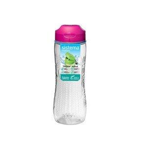 Láhev Sistema Tritan Active Bottle 800ml Barva: růžová