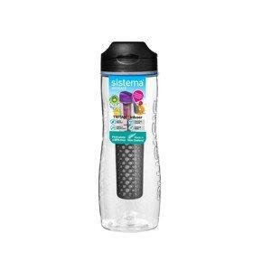 Láhev Sistema Tritan Infuser Bottle 800ml Barva: černá