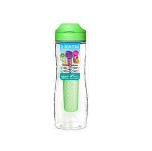 Láhev Sistema Tritan Infuser Bottle 800ml Barva: zelená