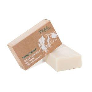 Žlučové mýdlo Teal Moo Soap