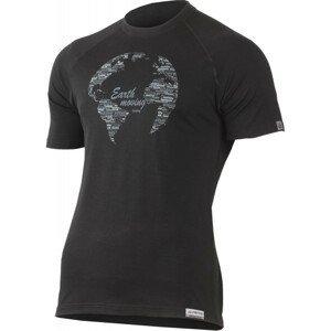 Pánské funkční triko Lasting Earth Velikost: XL / Barva: černá