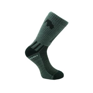 Ponožky Zulu Trekking Men Velikost ponožek: 39-42 / Barva: šedá