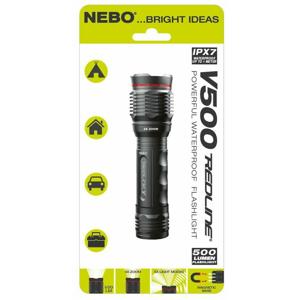 Svítilna NEBO Redline-V500 Barva: šedá (v blistru)