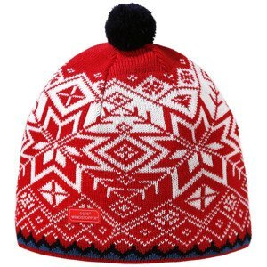 Pletená Merino čepice Kama AW41 Velikost: L / Barva: červená