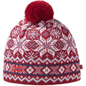 Pletená Merino čepice Kama AW06 Velikost: UNI / Barva: červená