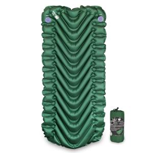 Nafukovací karimatka Klymit Static V Short Barva: zelená
