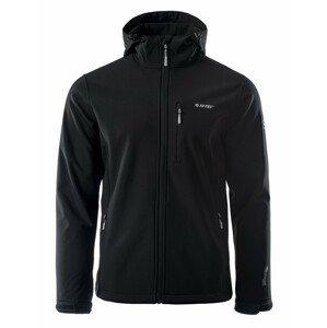 Pánská bunda Hi-Tec Caen Velikost: L / Barva: černá