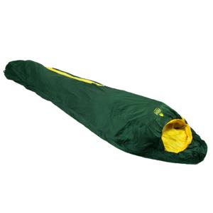 Spacák Zulu Ultralight 700 / 185 cm Zip: Pravý / Barva: tmavě zelená