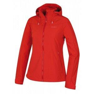 Dámská zimní bunda Husky Sahony L Velikost: M / Barva: červená