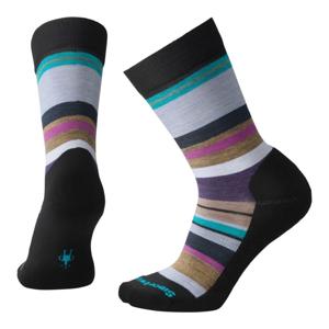 Dámské ponožky Smartwool Women's Saturnsphere Velikost ponožek: 38-41 / Barva: černá/modrá