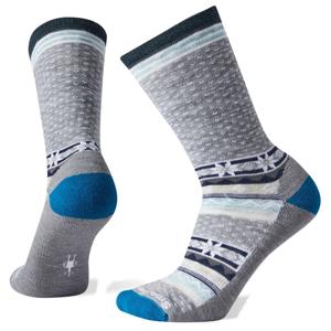 Dámské ponožky Smartwool W Cozy Cabin Crew Velikost ponožek: 38-41 / Barva: šedá