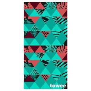 Rychleschnoucí ručník Towee Geo 70 x 140 cm