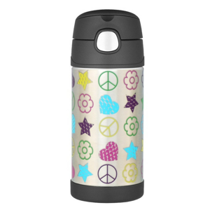 Dětská termoska Thermos Funtainer 470 ml Barva: stříbrná