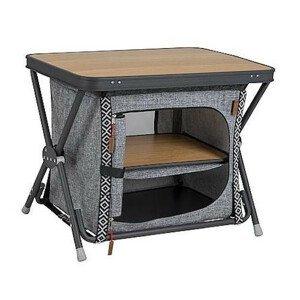 Skříňka Bo-Camp Cupboard/Table Forestdale Barva: šedá