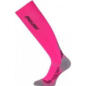 Kompresní podkolenky Lasting RTL Velikost ponožek: 34-37 / Barva: růžová