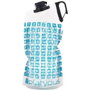 Láhev Platypus DuoLock Bottle, 2L Barva: modrá
