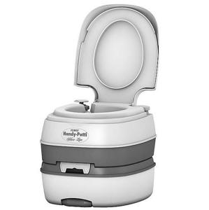 Chemická toaleta Stimex Handy Potti Silverline Barva: bílá