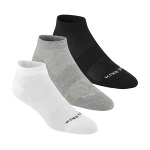 Dámské ponožky Kari Traa Tafis Sock 3pk Velikost ponožek: 36-38 / Barva: šedá/bílá/černá