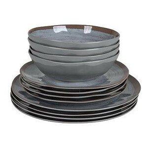 Sada nádobí Bo-Camp Tableware Halo 12 Barva: šedá