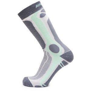 Ponožky Apasox Marmolada Velikost ponožek: 43-47 / Barva: světle zelená