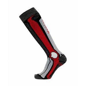 Podkolenky Apasox Marmolada P Velikost ponožek: 43-47 / Barva: červená