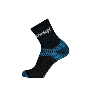 Ponožky Apasox Misti Velikost ponožek: 39-42 / Barva: modrá
